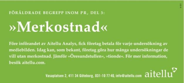 Byrå: Ubik! Copy & projektledare: Ulf Börgesson. AD: Sara Sundin (Tuvemark)