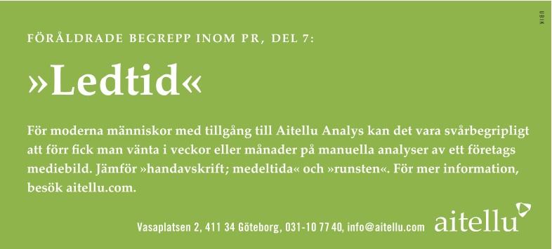 Byrå: Ubik! Copywriter & projektledare: Ulf Börgesson. AD: Sara Sundin (Tuvemark)