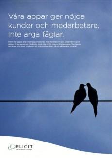 Byrå: Ubik. Projektledare och copywriter, Ulf Börgesson. Art Director: Simon Schlüter. Grafisk form och original: Jonas Berg.