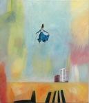 Alice, Åsa Chambert. Olja på duk/oil on canvas. 56 x 65 cm.