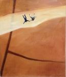 Reach Out, Åsa Chambert. Olja på duk/oil on canvas. 56 x 65 cm.