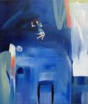 The Blue Hour, Åsa Chambert. Olja på duk/oil on canvas. 56 x 65 cm.